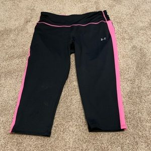 Under Armour fitted capris